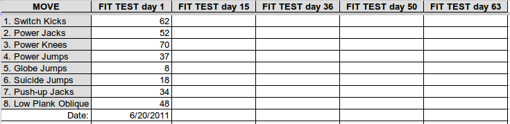 Awesome Insanity Fit Test Tracking Sheet Pdf Fitness And Workout Download Free Architecture Designs Scobabritishbridgeorg